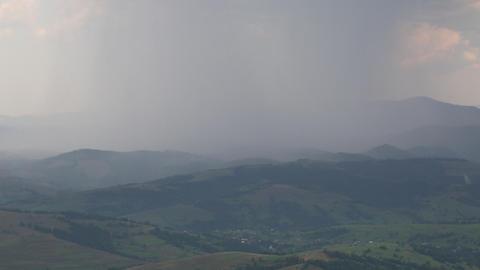 Thundery front, lightning strike Footage