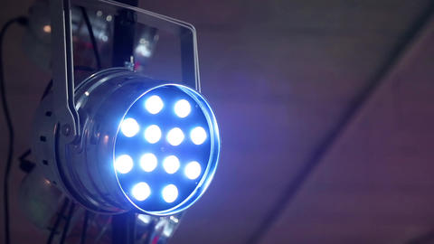 Lighting Device stock footage