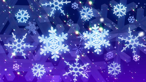 Snow D HD Animation