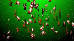 Christmas 06 santa reindeer Animation