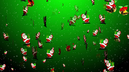 Christmas 12 santa bell Stock Video Footage