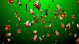 Christmas 12 santa bell Animation