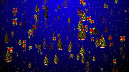 Christmas 22 tree bell holly Stock Video Footage