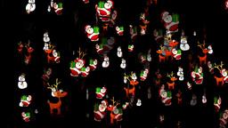 Christmas 26 alpha reindeer santa snowman Animation