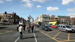 Dublin City 3 Stock Video Footage