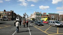 Dublin City 3 Stock Video Footage