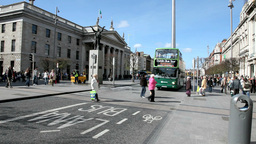 Dublin Traffic 1 Stock Video Footage