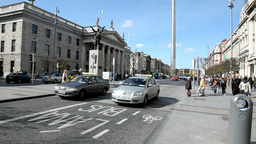 Dublin Traffic 1 Stock Video Footage