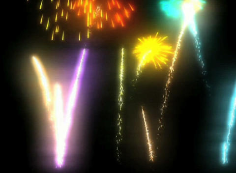 shine firework Stock Video Footage