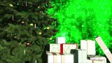 Merry Christmas V2 02 stock footage