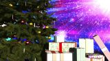 Merry Christmas V2 04 stock footage