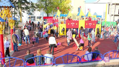 Playground 1 Stock Video Footage
