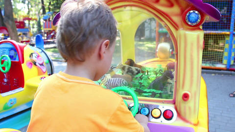 Children playing in park 8 Stock Video Footage