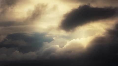 Glow Clouds 1 Stock Video Footage