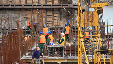 Reconstruction of Republican stadium for EURO 2012, Kiev, Ukraine Live Action