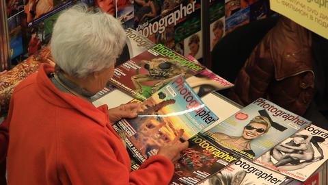 Magazine stall Live Action