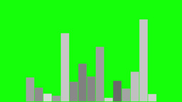 Column Diagram 1 - Green Screen-B.W stock footage