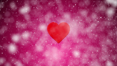 Valentines Day Glitter Pink Loop stock footage