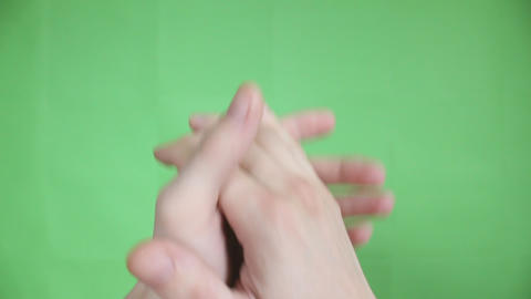 Applause Green Screen stock footage