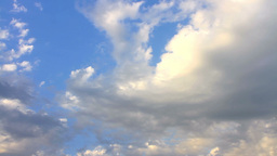 Dynamic rolling clouds bumbling in as a weather sy Footage