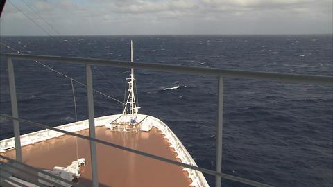 Cruising Ahead stock footage