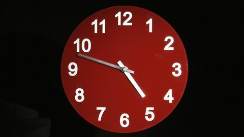 Clock face timelapse Footage