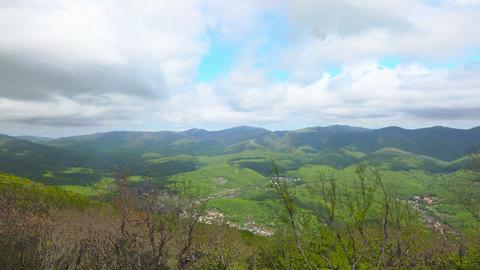 Mountain landscape timelapse 4K Footage
