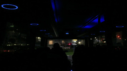 Bus Night Tour stock footage