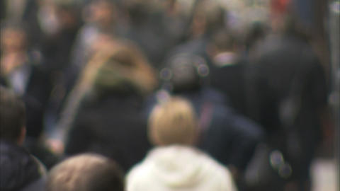 Crowds stock footage