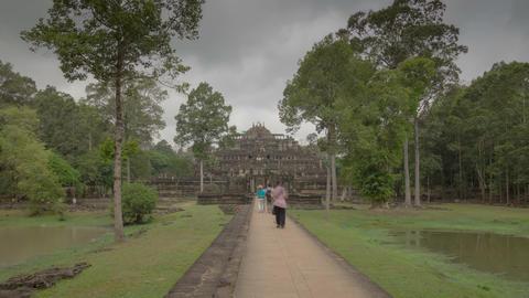 Way to Phimeanakas temple hyperlapse 4K Footage