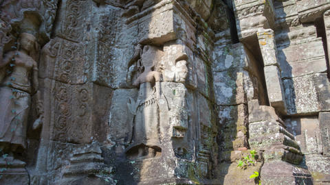 Quiet temple slider timelapse 4K Footage