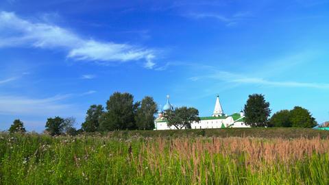 Kremlin in Suzdal timelapse 4K Footage