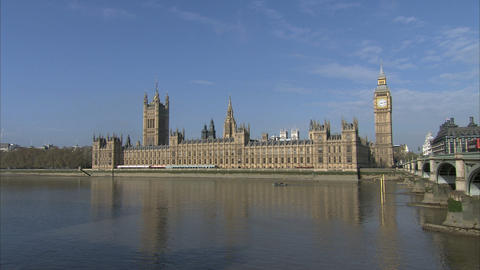 Houses Of Parliament stock footage
