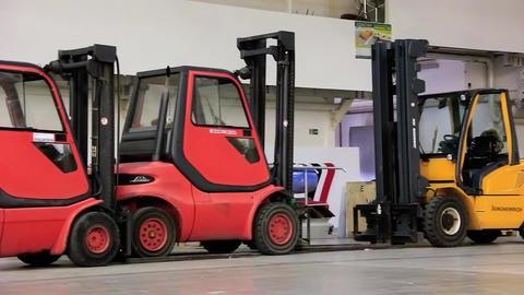 Forklift loaders Live Action