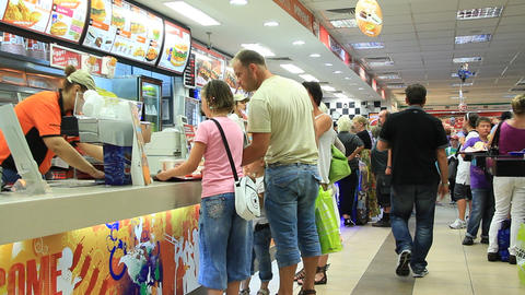 Fast food restaurant Live Action