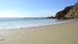 Beach shoreline Footage