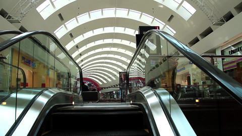 Escalator inside Dubai Mall, United Arab Emirates Footage