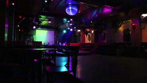 Inside the nightclub Footage