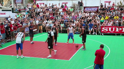 Streetball Footage