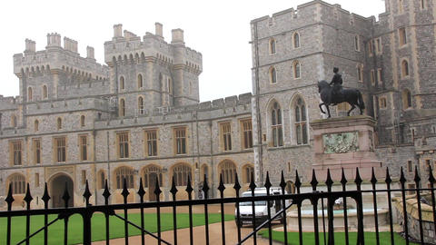 Guardsman of the Windsor Castle, England Footage