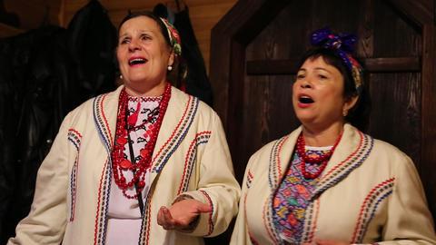 Ukrainian folk song Footage