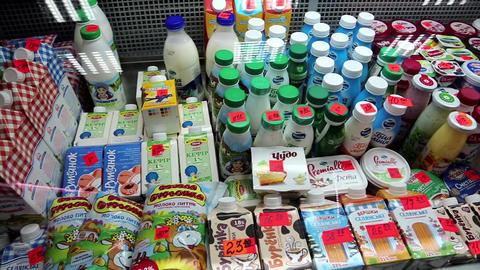 Dairy foods Footage
