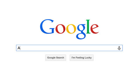 Google Is Most Popular Search Engine In The World. stock footage