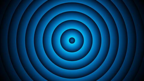 blue circle lights with alpha matte Animación