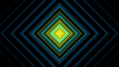 diamond line lights with alpha matte Animation