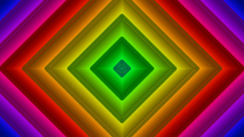 colorful diamond pattern with alpha matte Animation