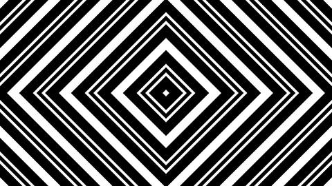 rhombus white stripes with alpha matte Animation