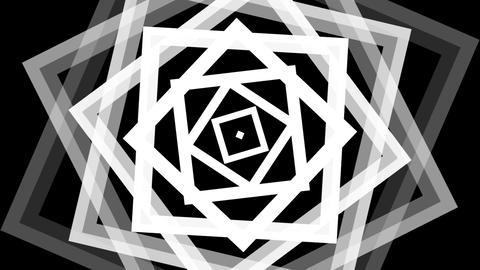 square twist luma with alpha matte Animation