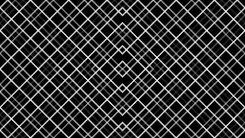 diamond grid pattern with alpha matte Animation
