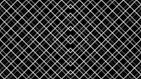 diamond grid pattern with alpha matte Animation